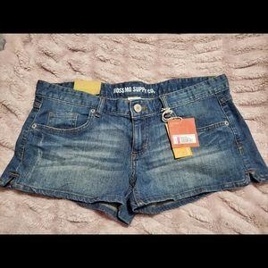 Jean short shorts NWT